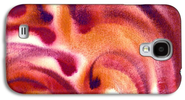 Abstract Expression Galaxy S4 Cases - Inpiration One C Galaxy S4 Case by Irina Sztukowski