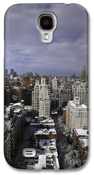 Snowy Day Galaxy S4 Cases - Inside Looking Out Galaxy S4 Case by Madeline Ellis