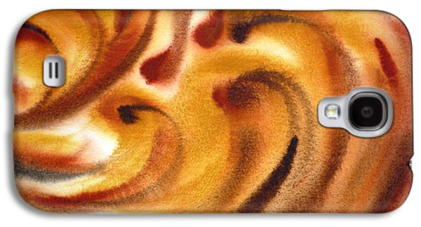 Abstract Expression Galaxy S4 Cases - Inspiration One   Galaxy S4 Case by Irina Sztukowski