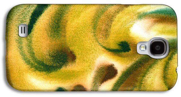 Abstract Expression Galaxy S4 Cases - Inspiration One B Galaxy S4 Case by Irina Sztukowski