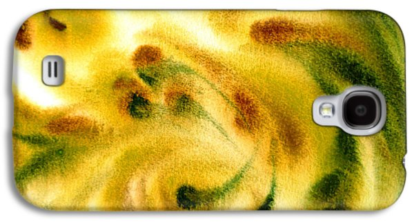 Abstract Expression Galaxy S4 Cases - Inspiration Three B Galaxy S4 Case by Irina Sztukowski