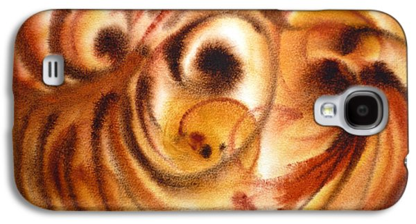 Abstract Expression Galaxy S4 Cases - Inspiration Two  Galaxy S4 Case by Irina Sztukowski