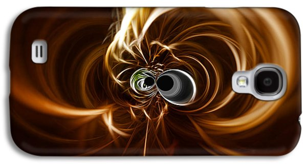 Abstract Digital Galaxy S4 Cases - Into the Abyss Galaxy S4 Case by Cheryl Young