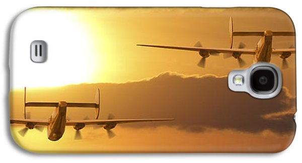 Warbird Galaxy S4 Cases - Into the Sun 2 Galaxy S4 Case by Mike McGlothlen