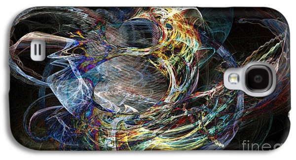 Inward Galaxy S4 Cases - Inward Flow Galaxy S4 Case by Ron Bissett