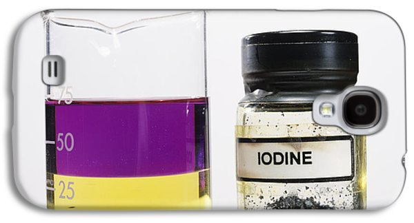 Water Jars Galaxy S4 Cases - Iodine Properties Galaxy S4 Case by Andrew Lambert Photography