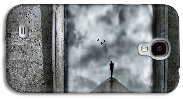 Dark Digital Art Galaxy S4 Cases - Isolation Galaxy S4 Case by Photodream Art