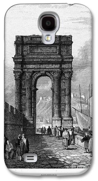 1833 Galaxy S4 Cases - Italy: Ancona, 1833 Galaxy S4 Case by Granger