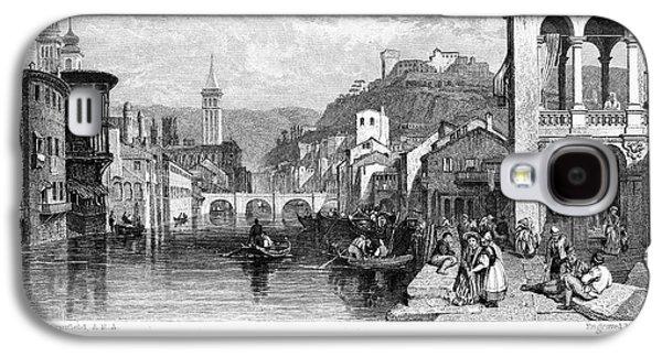 1833 Galaxy S4 Cases - Italy: Verona, 1833 Galaxy S4 Case by Granger