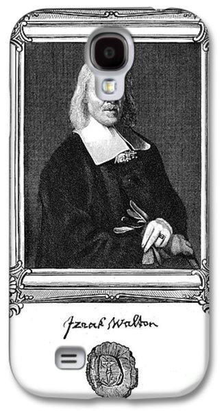 Autographed Galaxy S4 Cases - Izaak Walton (1593-1683) Galaxy S4 Case by Granger