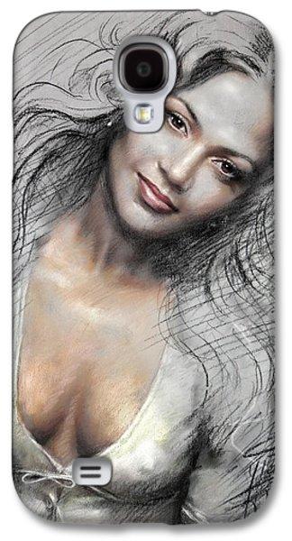 Americans Pastels Galaxy S4 Cases - J L0 Galaxy S4 Case by Ylli Haruni