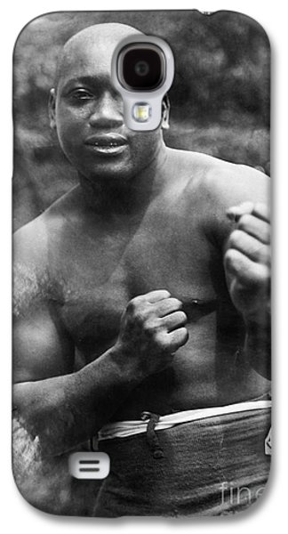 Recently Sold -  - Boxer Galaxy S4 Cases - Jack Johnson (1878-1946) Galaxy S4 Case by Granger