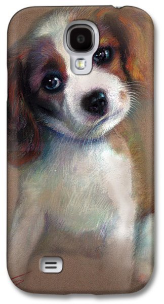 Dogs Pastels Galaxy S4 Cases - Jack Russell Terrier Dog Galaxy S4 Case by Ylli Haruni
