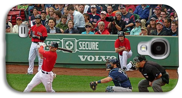 Red Sox Art Galaxy S4 Cases - Jacoby Ellsbury Galaxy S4 Case by Juergen Roth