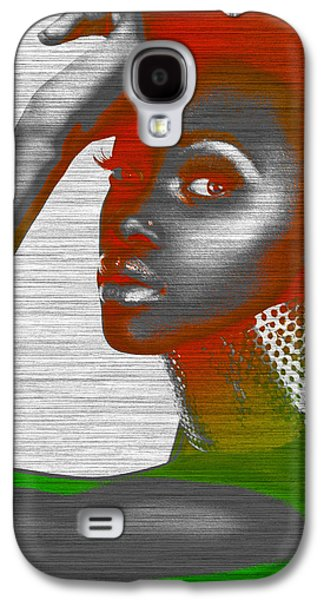 Jewelry Galaxy S4 Cases - Jada Galaxy S4 Case by Naxart Studio