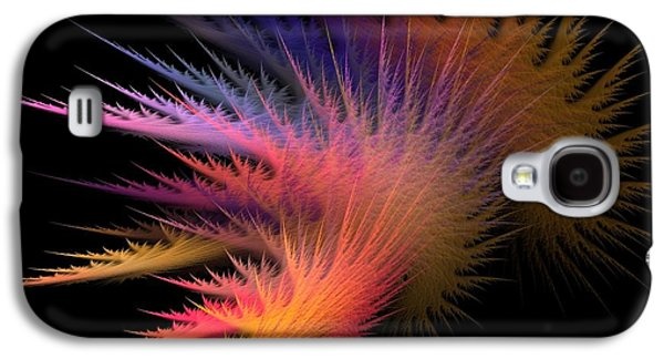 Abstract Digital Digital Galaxy S4 Cases - Jagged Edge Galaxy S4 Case by Lourry Legarde