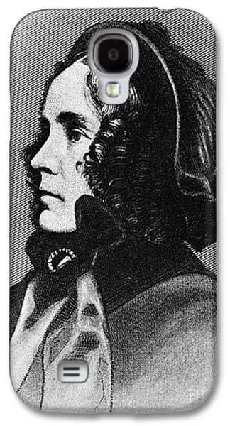 First Lady Galaxy S4 Cases - Jane Pierce (1806-1863) Galaxy S4 Case by Granger