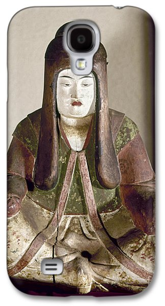 Statue Portrait Galaxy S4 Cases - JAPAN: STATUE, 9th CENTURY Galaxy S4 Case by Granger