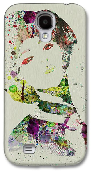 Seductive Galaxy S4 Cases - Japanese woman Galaxy S4 Case by Naxart Studio