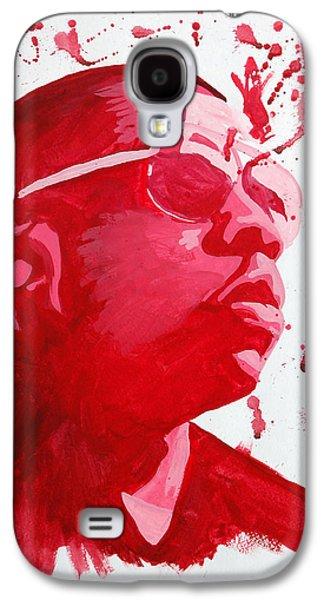 Jay Z Paintings Galaxy S4 Cases - Jay-Z Galaxy S4 Case by Michael Ringwalt