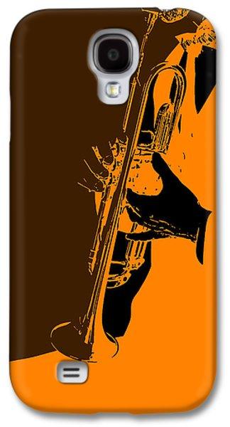 Sound Digital Art Galaxy S4 Cases - Jazz Galaxy S4 Case by Naxart Studio