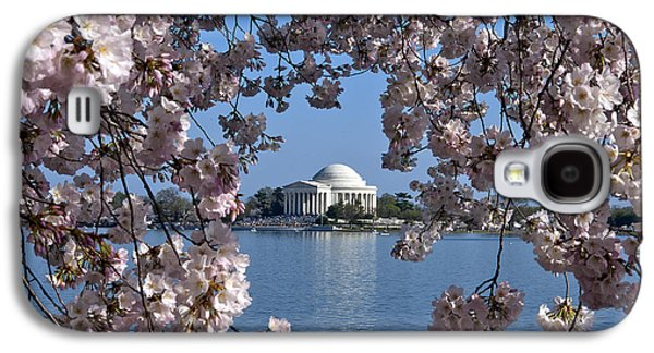 Business Decor Galaxy S4 Cases - Jefferson Memorial on the Tidal Basin DS051 Galaxy S4 Case by Gerry Gantt