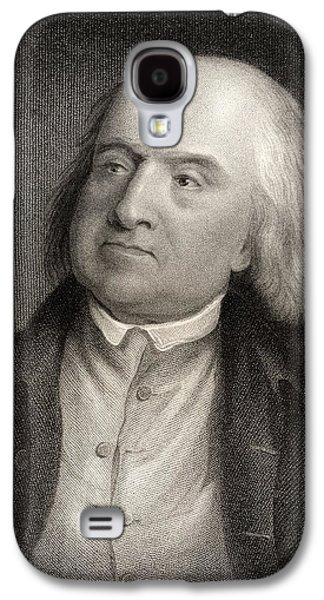 Jeremy Galaxy S4 Cases - Jeremy Bentham 1748 To 1832 English Galaxy S4 Case by Ken Welsh