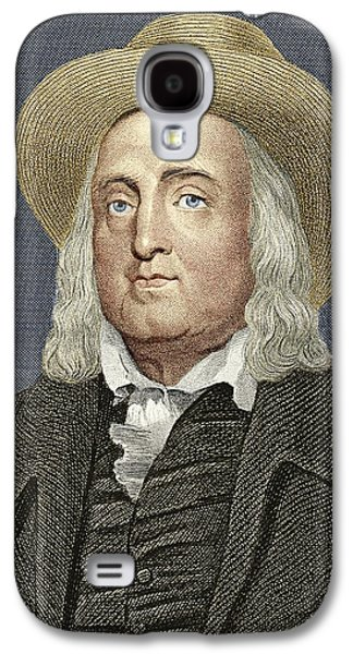 Jeremy Galaxy S4 Cases - Jeremy Bentham, British Philosopher Galaxy S4 Case by Sheila Terry