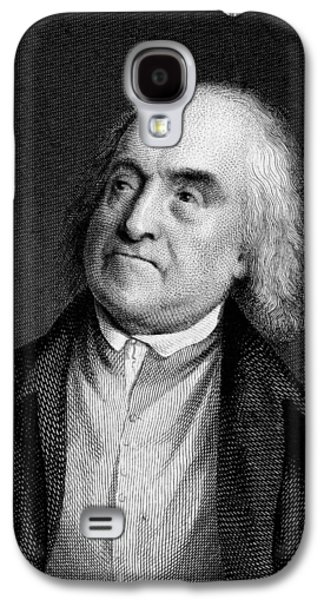 Jeremy Galaxy S4 Cases - Jeremy Bentham, English Social Reformer Galaxy S4 Case by Middle Temple Library