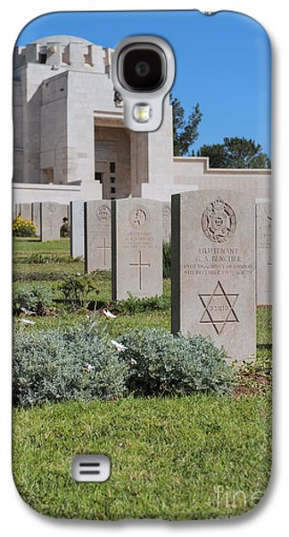 Final Resting Place Galaxy S4 Cases - Jerusalem British war cemetery Galaxy S4 Case by Noam Armonn