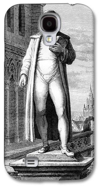 Statue Portrait Galaxy S4 Cases - Johann Gutenberg, German Inventor Galaxy S4 Case by