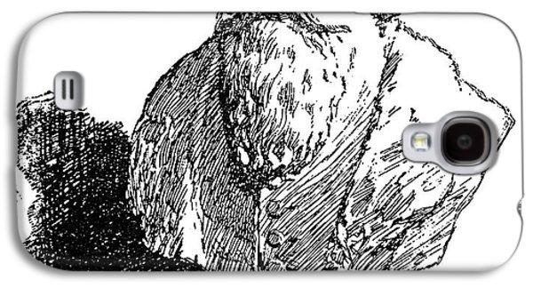 Statue Portrait Galaxy S4 Cases - John Amos Comenius Galaxy S4 Case by Granger