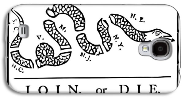 4th July Galaxy S4 Cases - Join or Die Galaxy S4 Case by War Is Hell Store