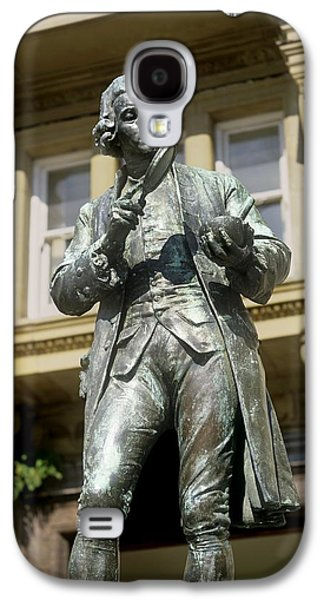 Statue Portrait Galaxy S4 Cases - Joseph Priestley, British Chemist Galaxy S4 Case by Martin Bond