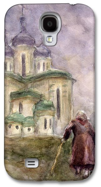Church Drawings Galaxy S4 Cases - Journey Galaxy S4 Case by Svetlana Novikova