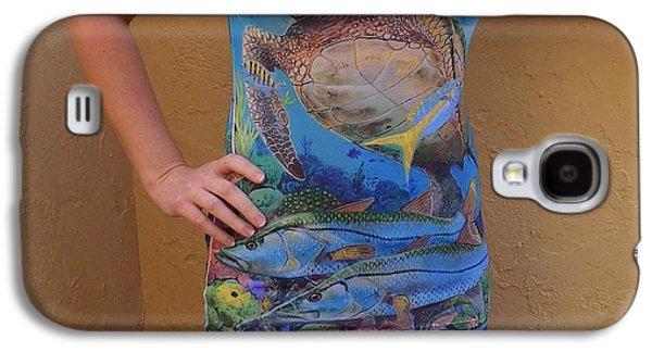 Shirt Digital Galaxy S4 Cases - Jupiter performance ladies shirt Galaxy S4 Case by Carey Chen
