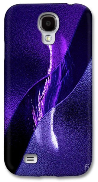 Abstracted Glass Art Galaxy S4 Cases - Just Below the Ice Galaxy S4 Case by Peter Piatt