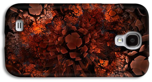 Digital Art Greeting Cards Galaxy S4 Cases - Ka-Blam-Oh Galaxy S4 Case by Lyle Hatch