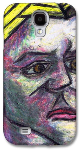 Person Pastels Galaxy S4 Cases - Kamila Galaxy S4 Case by Kamil Swiatek