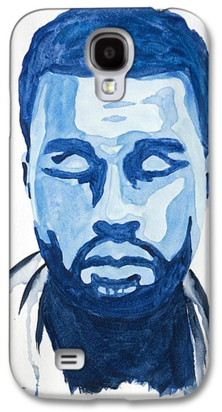 Kanye West Paintings Galaxy S4 Cases - Kanye West Galaxy S4 Case by Michael Ringwalt