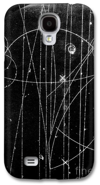 Anti Galaxy S4 Cases - Kaon Proton Collision Galaxy S4 Case by SPL and Photo Researchers