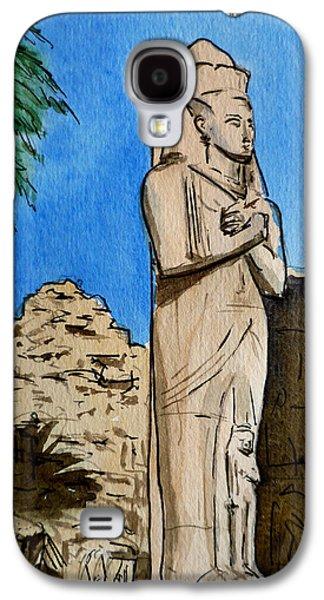Karnak Temple Egypt Galaxy S4 Case by Irina Sztukowski