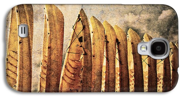 Useful Galaxy S4 Cases - Kayaks Galaxy S4 Case by Skip Nall