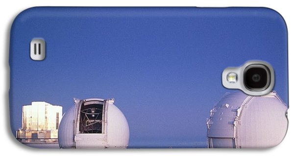 Keck Galaxy S4 Cases - Keck Telescope Domes Galaxy S4 Case by G. Brad Lewis