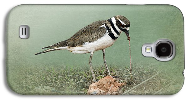 Killdeer And Worm Galaxy S4 Case by Betty LaRue