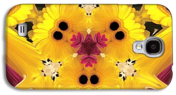 Abstract Digital Photographs Galaxy S4 Cases - Kitty Petals Galaxy S4 Case by Cheryl Young