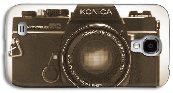 35mm Galaxy S4 Cases - Konica TC 35mm Camera Galaxy S4 Case by Mike McGlothlen