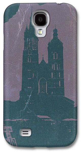 Old Town Digital Art Galaxy S4 Cases - Krakow Galaxy S4 Case by Naxart Studio