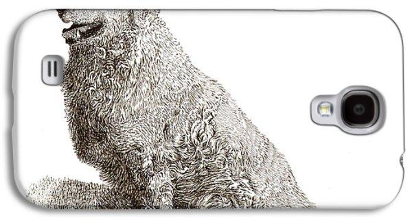 Kuvasz Named Pax Galaxy S4 Case by Jack Pumphrey