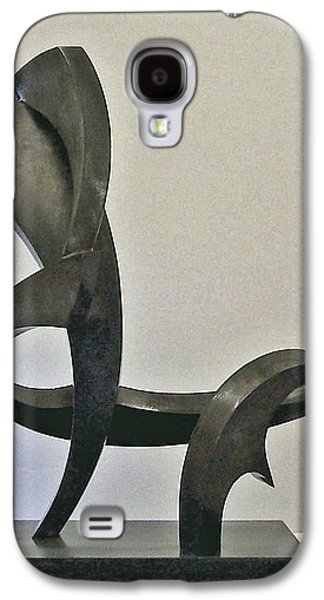 Abstract Movement Sculptures Galaxy S4 Cases - La Chaise Galaxy S4 Case by John Neumann